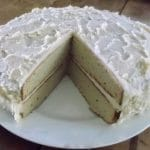 Coconut Layer Birthday Cake