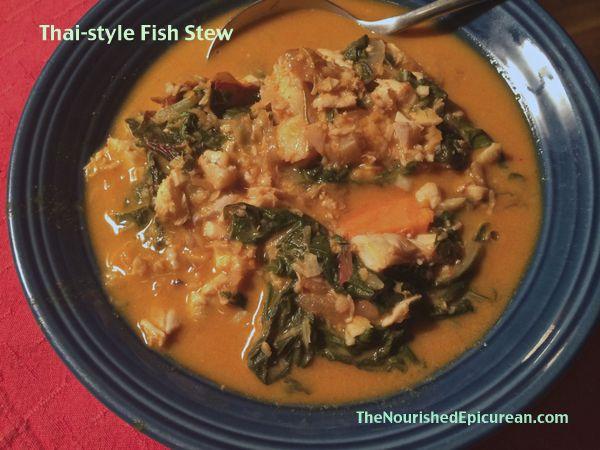 One-Pot Thai-Style Fish & Greens