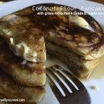 Cast-Iron Skillet Coconut Flour Pancakes