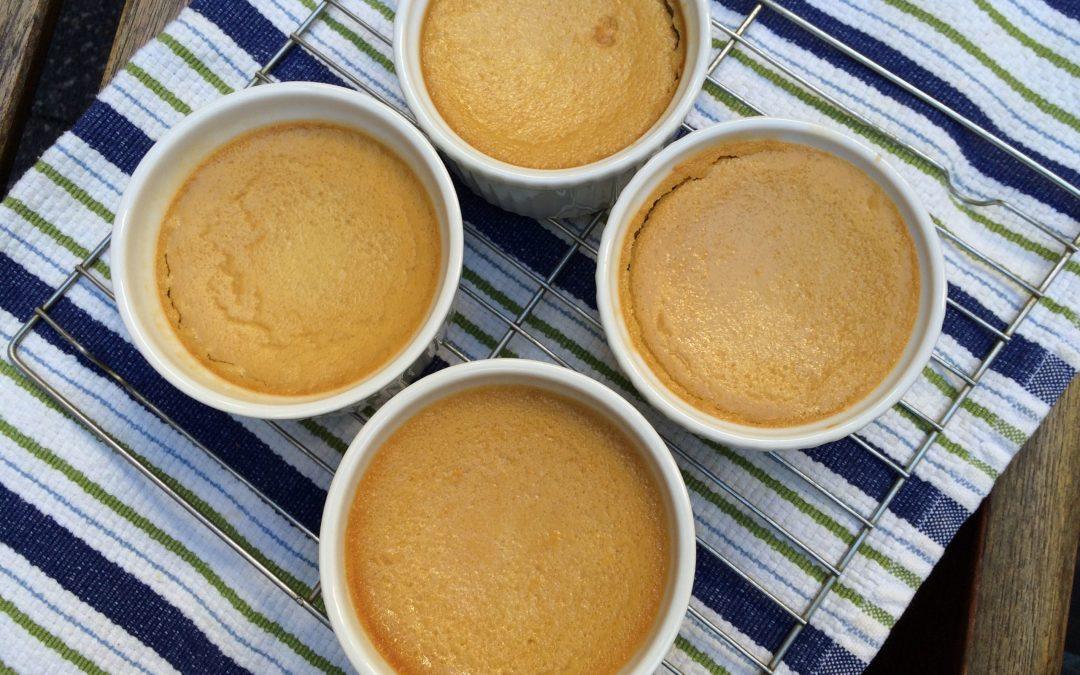 Baked Pumpkin-Ginger Custard
