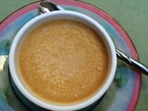 Ginger Pumpkin Custard 8