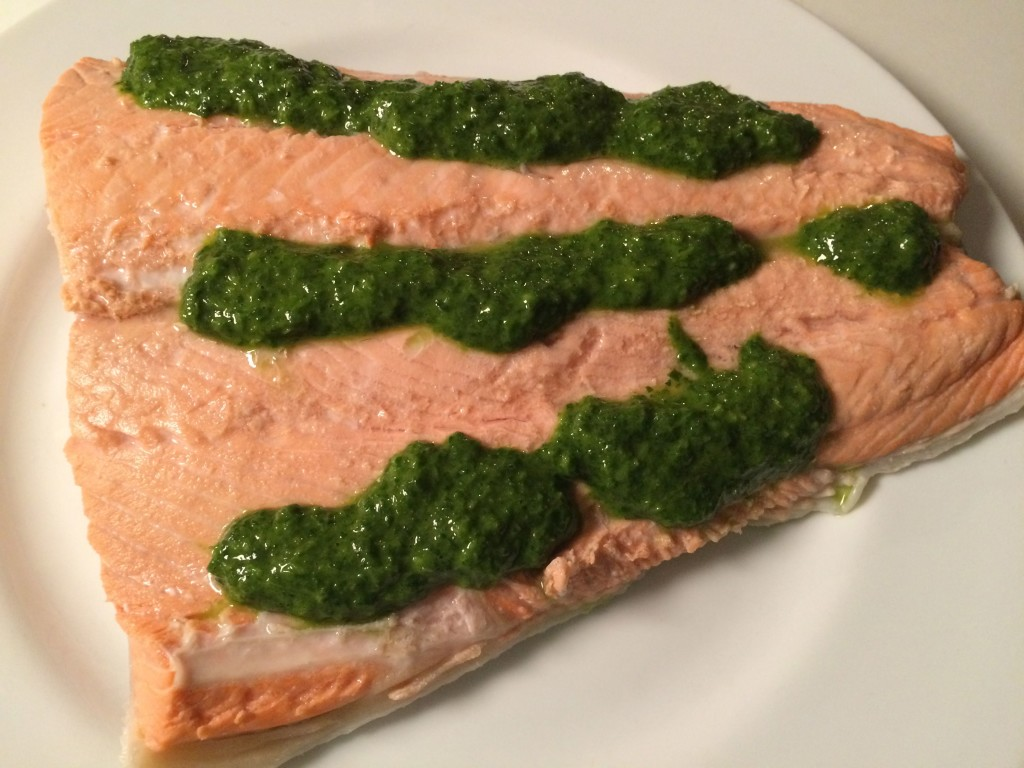 Naturally Cleansing: Cilantro Pesto - the nourished epicurean