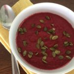 Creamy Raw Beet Soup