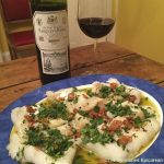 Comforting Poached Cod, Guernica-Style