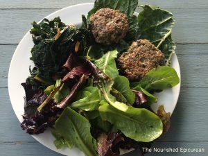 03-Lamb burgers & kale wrap