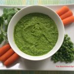 Sweet Green: Pea and Spinach Dip with Basil