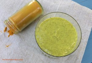 The Nourished Epicurean_Golden Glow Smoothie & Turmeric