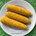 Fresh corn-on-the-cob