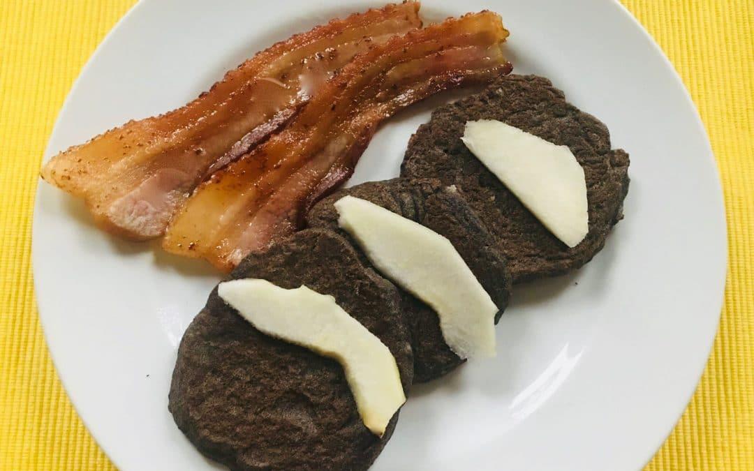 Banana-Buckwheat-Flax Pancakes