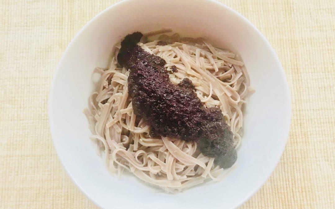 Shiso Pesto and 100% Buckwheat Noodles