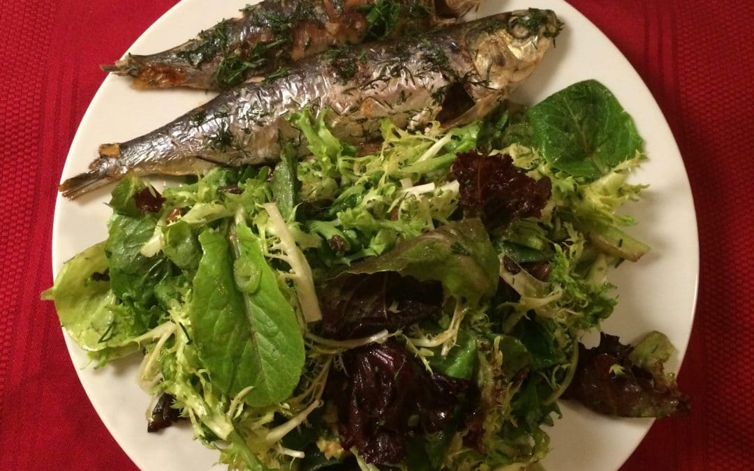 Omega 3 Rx: Quick & Easy Broiled Sardines