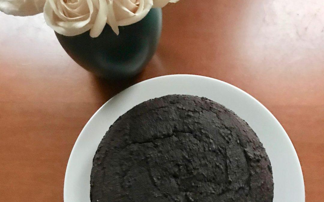 Tiger Nut-Chocolate Cake with Chocolate Ganache