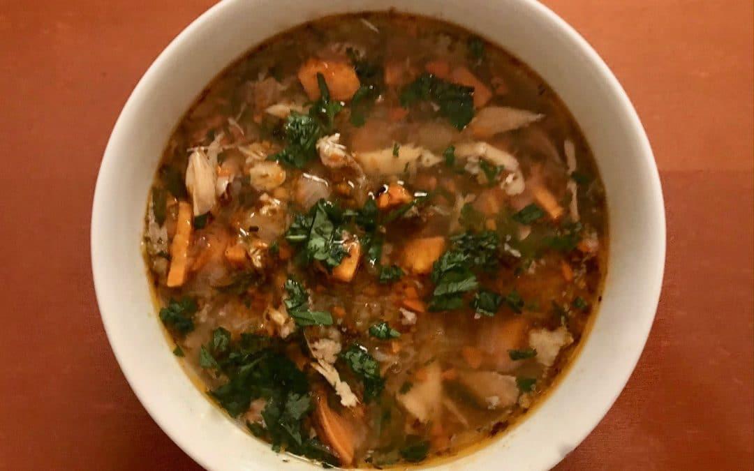 Heritage Turkey Soup
