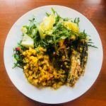 Cauliflower Rice + Org Greens + Sardines