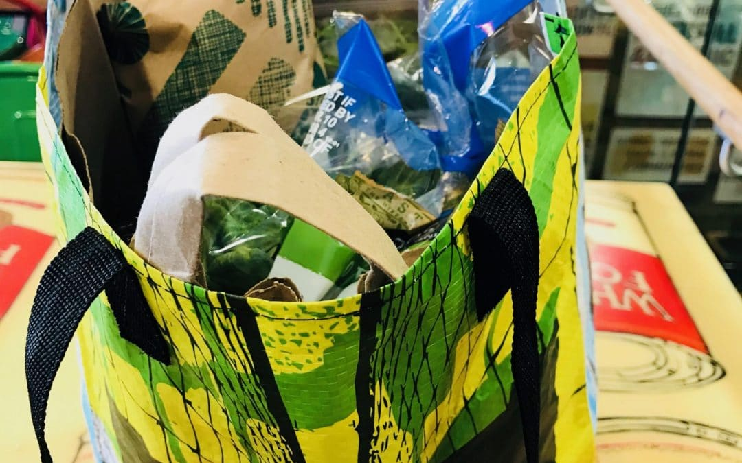 The New Normal: Good-Bye Plastic Bags!