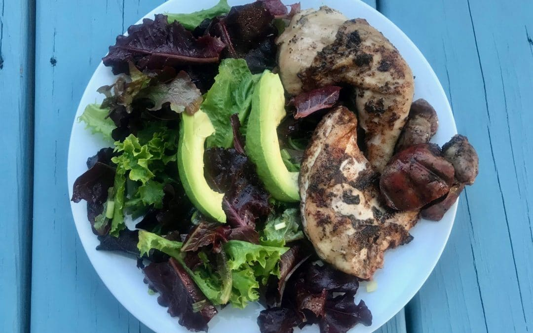 Grilled Cinnamon Poussin