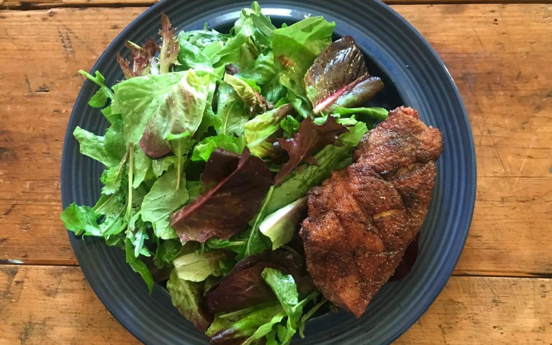 Grilled Five Spice Duck Breast