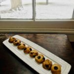 Choc Chip Almond Cookies