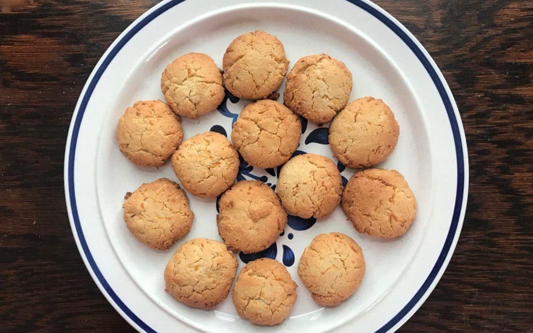 Lemon-Ginger Almond Cookies