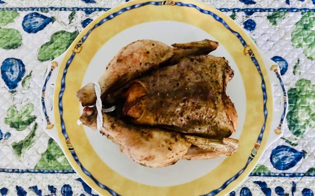 Cinnamon Roast Chicken